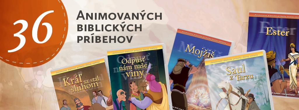 série 36 Animovaných biblických příběhů