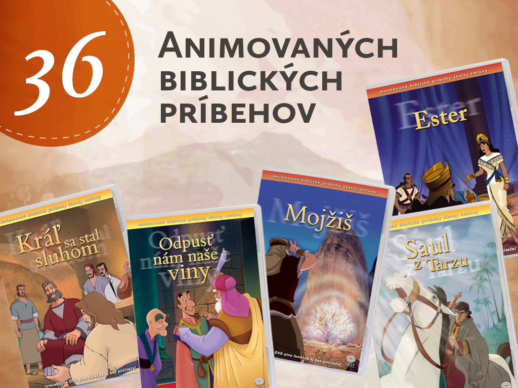 Animované biblické příběhy